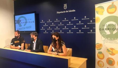 L'acte de la presentació de la cooperativa, aquest dimecres a la Diputació de Lleida.