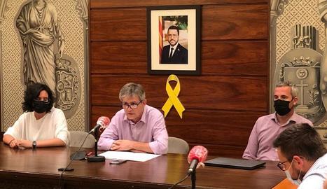 El ple extraordinari de renúncia de David Rodríguez.
