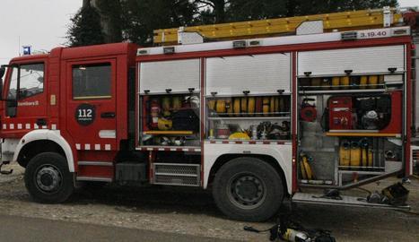 Un camió dels bombers en una imatge d'arxiu.