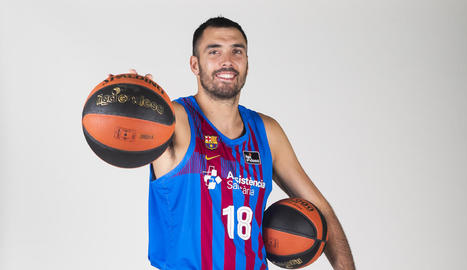 El lleidatà Pierre Oriola, capità del Barça.