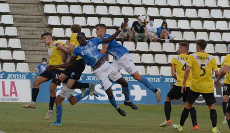 El Lleida cau a casa davant de l'Europa (0-2) i continua sense conèixer la victòria