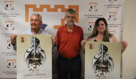 L'acte de presentació de la Festa de Moros i Cristians de Lleida.