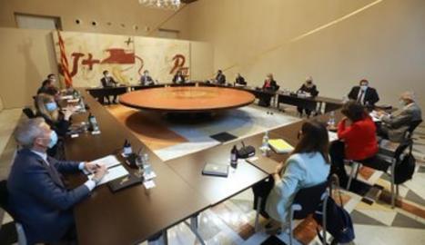 La reunió del Consell Executiu.