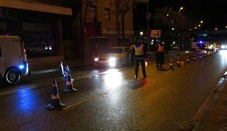 Accident entre dos vehicles a Lleida ciutat amb un dels conductors positiu penal en alcoholèmia