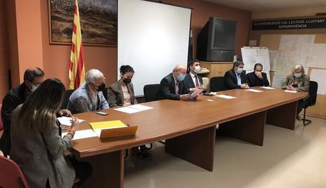 El ple de renúncia de Josep Regué com a alcalde de Cubells.