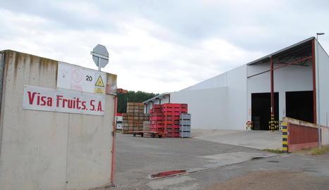 Imatge de les instal·lacions de l'empresa en les quals es va produir l'accident mortal.