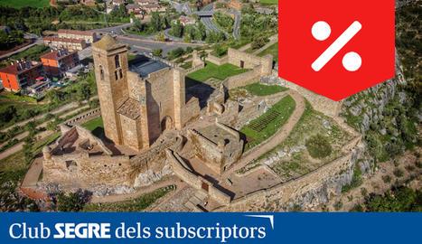 El Castell de Benavarri fou propietat dels Condes de Ribagorza i, anys més tard, declarat bé d'interès cultural.