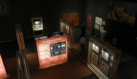 L'exposició 'Art Primer. Artistes de la prehistòria', al Museu de Lleida,.