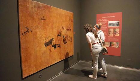 'Art primer' compta amb un apartat especial dedicat a les pintures rupestres del Cogul.
