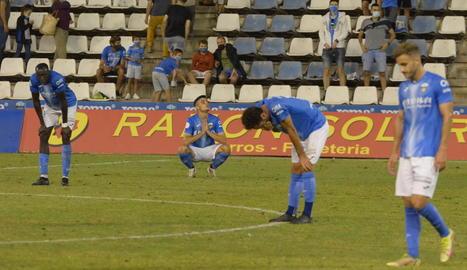 Derrota humiliant del Lleida a Andratx (3-0)