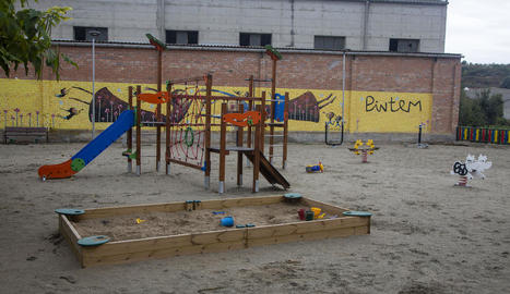 Imatge del parc que ha estat possible gràcies a una donació.