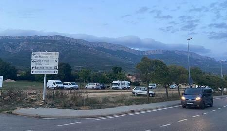 El municipi de Lleida que multarà autocaravanes si no aparquen en zones habilitades