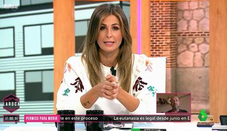 Núria Roca en l'estrena a La Sexta.