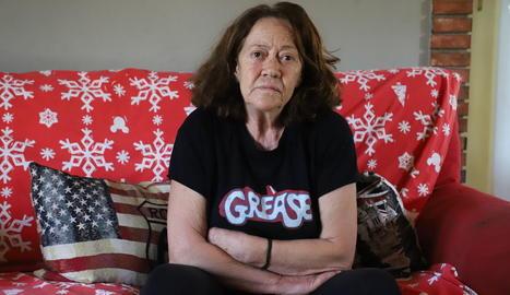 Rosita Hernández, la veïna de 71 anys de Bellcaire d'Urgell que fa un any va ser atacada brutalment per Benjamín Fernández.