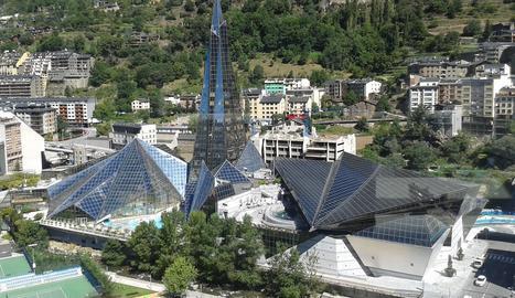 Caldea a Escaldes, Andorra.