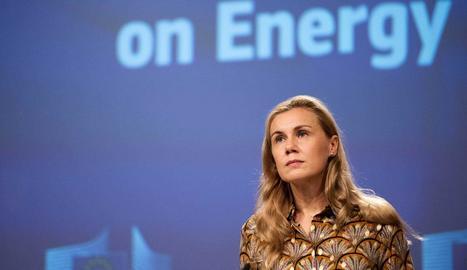 La comissària europea d'Energia, Kadri Simson.