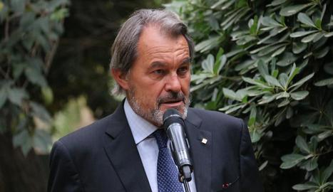 L'expresident del Govern de la Generalitat, Artur Mas.