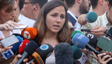 La ministra de Drets Socials i Agenda 2030, Ione Belarra, en una imatge d'arxiu.