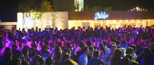 Imagen de una noche de fiesta en la discoteca Biloba de Lleida.