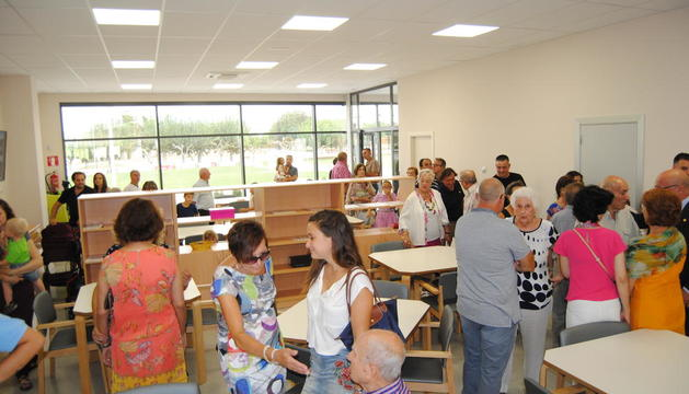 Los vecinos de Fondarella pudieron visitar el nuevo centro.
