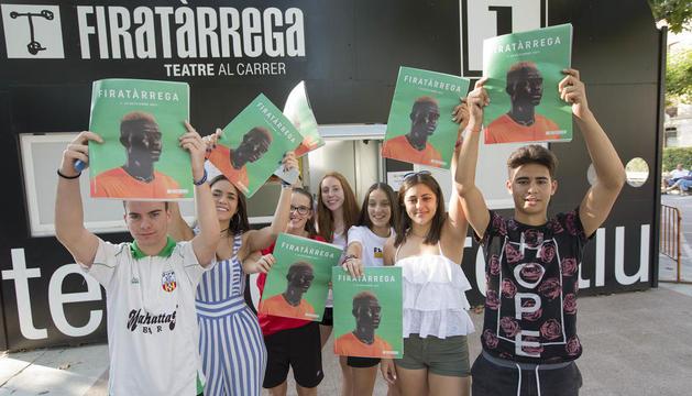 Les taquilles a la plaça del Carme ja viuen la imminent estrena d'una nova edició de FiraTàrrega.