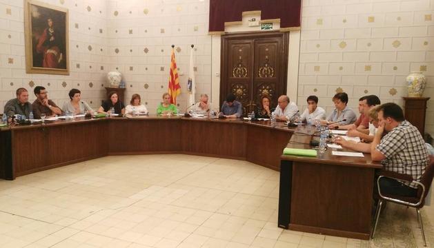 El pleno celebrado anoche en La Seu d'Urgell.
