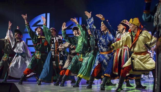 El Ballet Theatre Baikal, uno de los conjuntos que actuará.