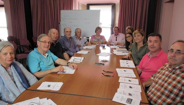 Reunión de trabajo de las Aulas Universitarias para mayores.