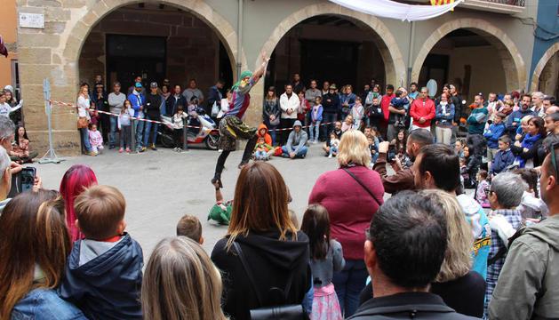 Espectáculo de acrobacias 'Bufonades'.