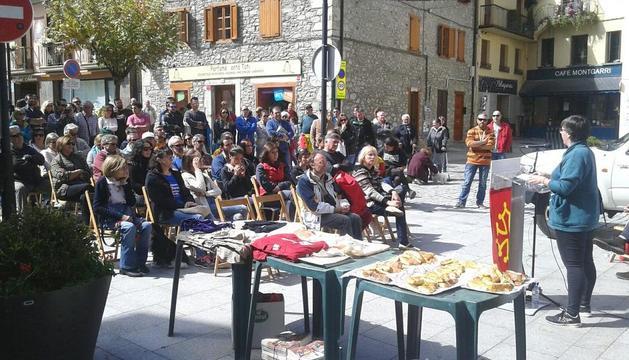 Acto por el 'sí' en Vielha pese al veto del ayuntamiento