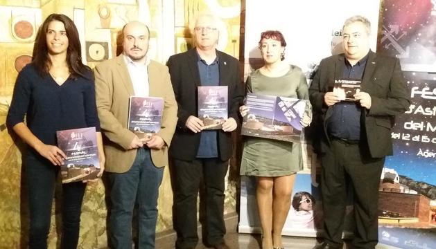 Presentació del IV Festival Astronòmic del Montsec.