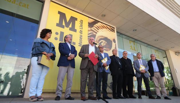 El Consorci del Museu, con el conseller de Cultura al frente, anunció las alegaciones el 1 de septiembre.