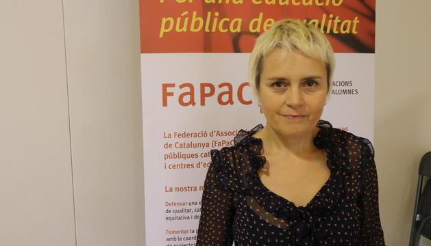 La presidenta, Belén Tascón.
