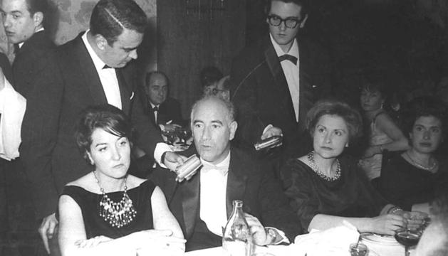 El premi Urriza era tot un esdeveniment social als seixanta.