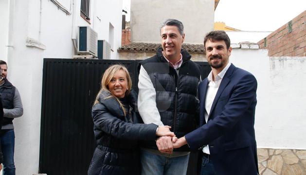 Albiol i Montserrat, a Gimenells amb Dante Pérez