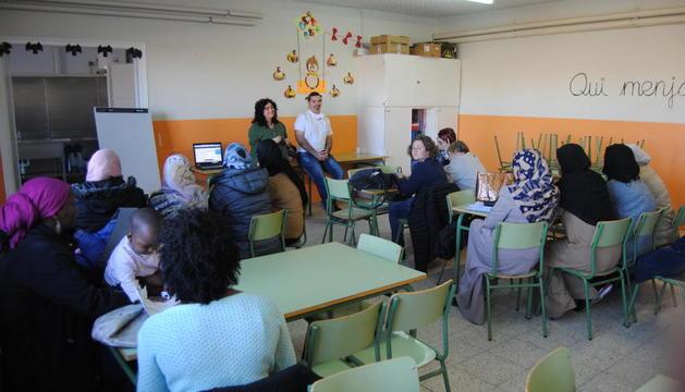 La presentación se llevó a cabo ayer en el Ignasi Peraire.