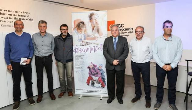 Presentació a Barcelona de la temporada d'esquí d'FGC.