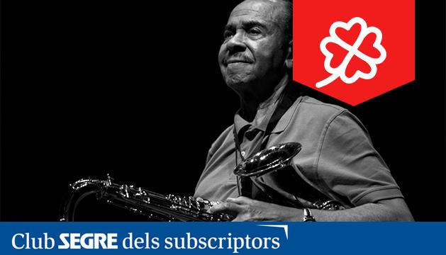 El saxofonista i compositor estatudinenc Benny Golson.