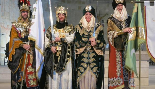 Les dones tornen a encapçalar els dos bàndols de la Festa de Moros i Cristians de Lleida