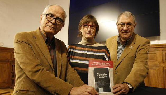Josep Varela condujo la presentación de la obra de Felip y Castellet.