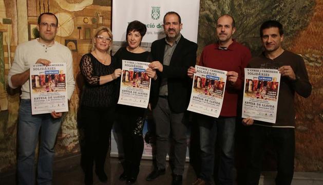 La iniciativa se presentó ayer en la diputación de Lleida.