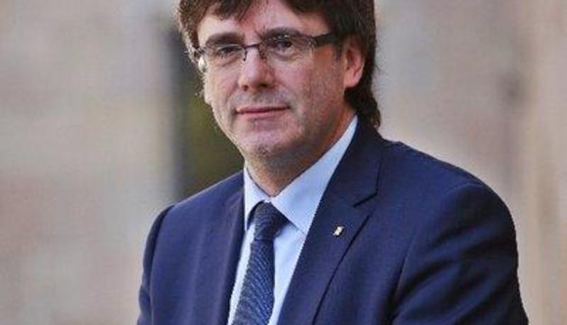 El líder de la Generalitat i del Govern central.