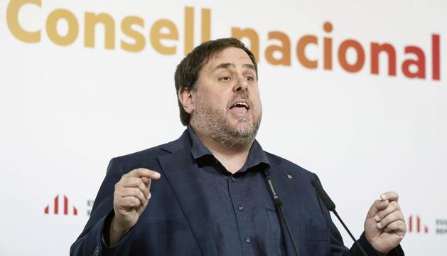 L'exvicepresident de la Generalitat Oriol Junqueras.