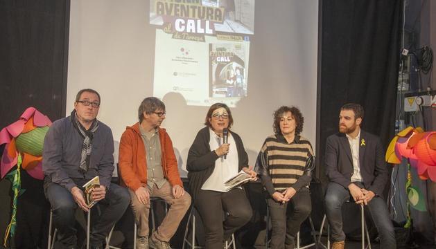 Ahir es va presentar el llibre 'Una aventura al call de Tàrrega' de Gemma Peris i Maria Alba Minguell.