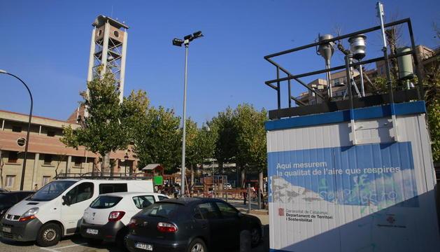 La ciutat té una única estació de vigilància de la contaminació, entre Pius XII i Bisbe Irurita.