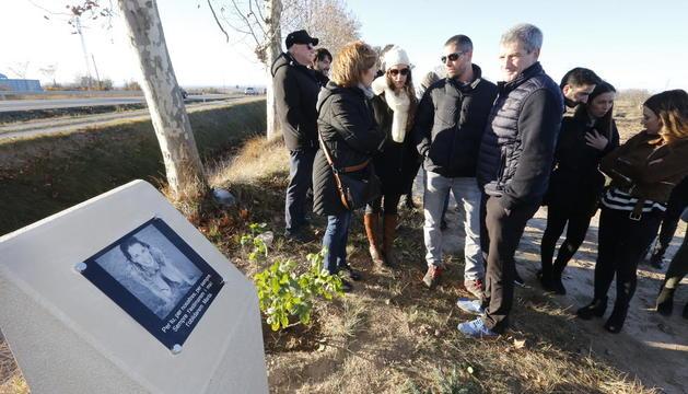 Homenatge a la jove de Les Borges morta en un accident en la N-240
