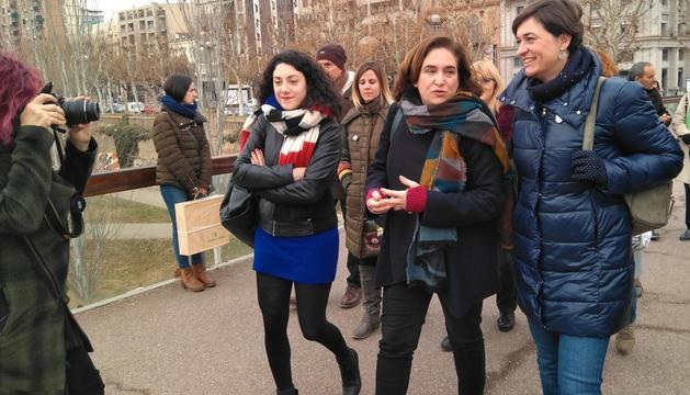 """Colau insta a Lleida a prioritzar la inversió social davant la """"arrogància"""" del PP"""