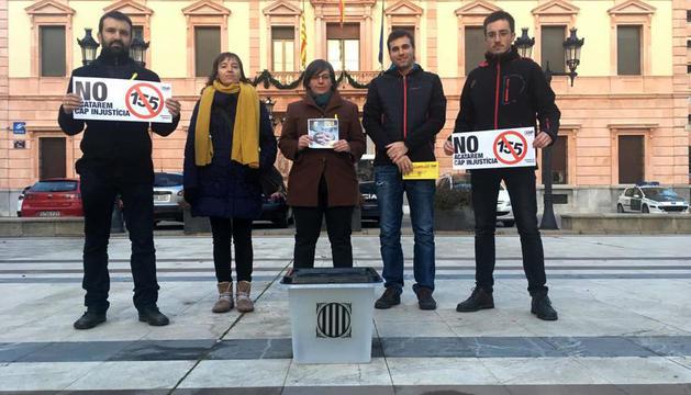 La Policia Nacional identifica a Mireia Boya a Lleida