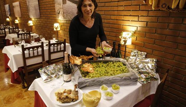 Al restaurant El Celler del Roser de Lleida ja han començat els preparatius per a la celebració de la nit de Cap d'Any.