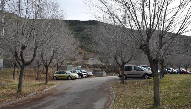 Arsèguel tindrà un magatzem al costat de l'aparcament municipal.